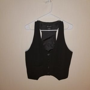 Space Girly black vest